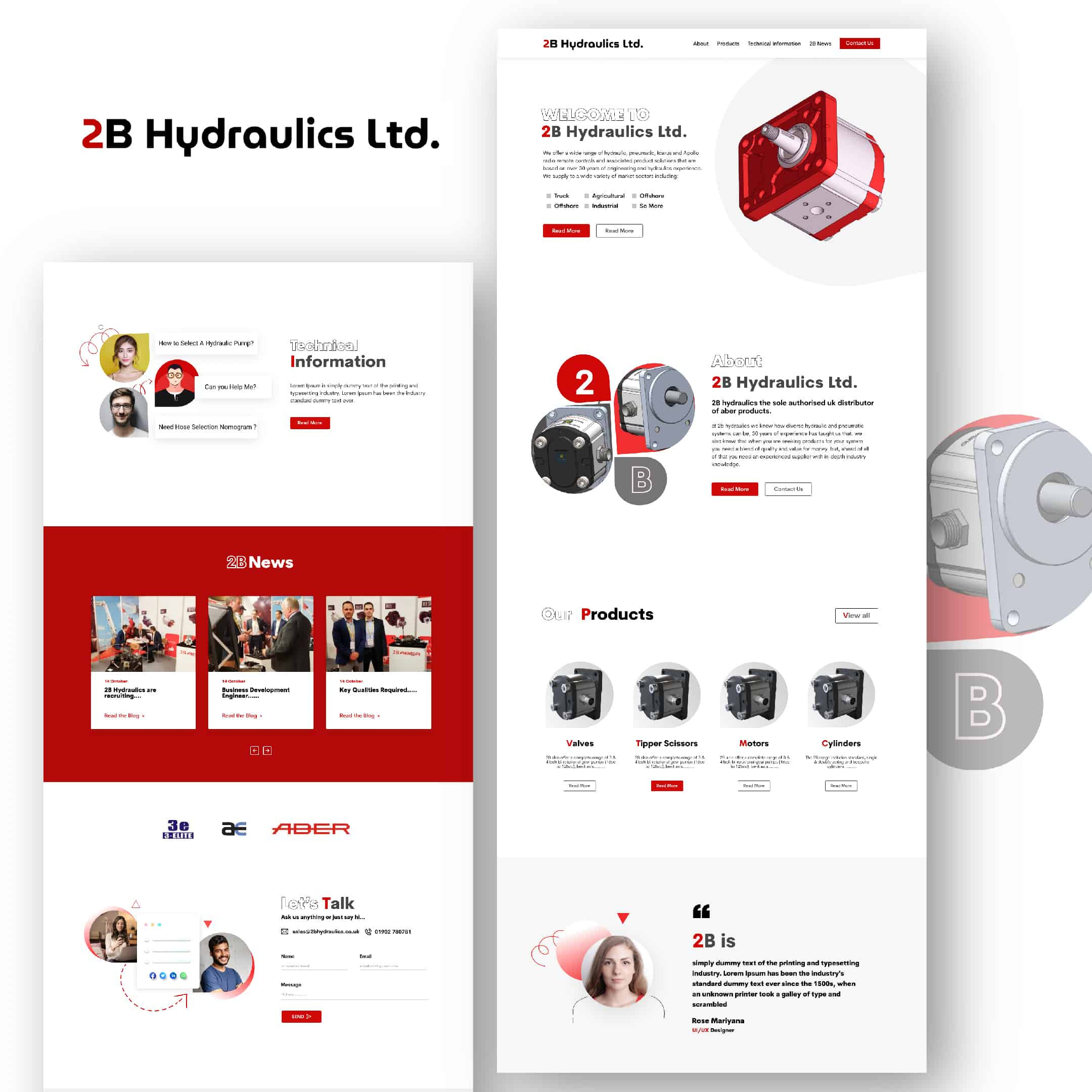 2B Hydraulic Branding